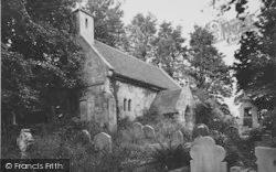 Bonchurch, The Old Church Of St Boniface c.1955
