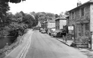 Bonchurch, The Pond And Cafe c.1955