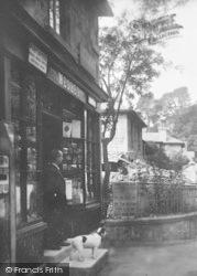 Bonchurch, The Post Office 1913