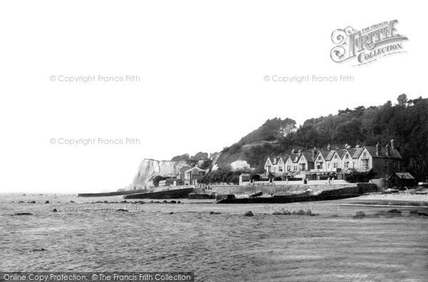 Bonchurch, The Shore And The Cliffs c.1955
