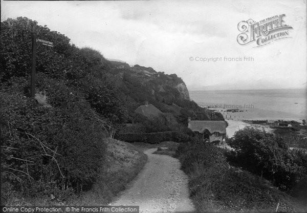 Bonchurch, The Thatch Cottage 1913