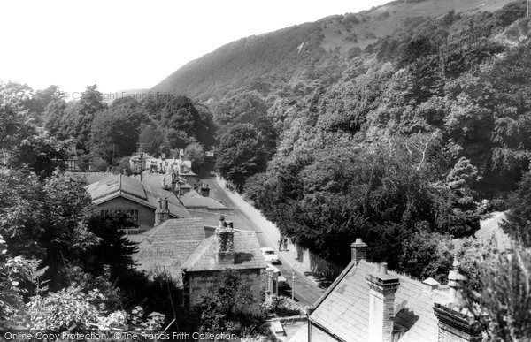 Bonchurch, The Village From The Cliffs c.1960