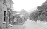 Bonchurch, Village And Post Office 1934