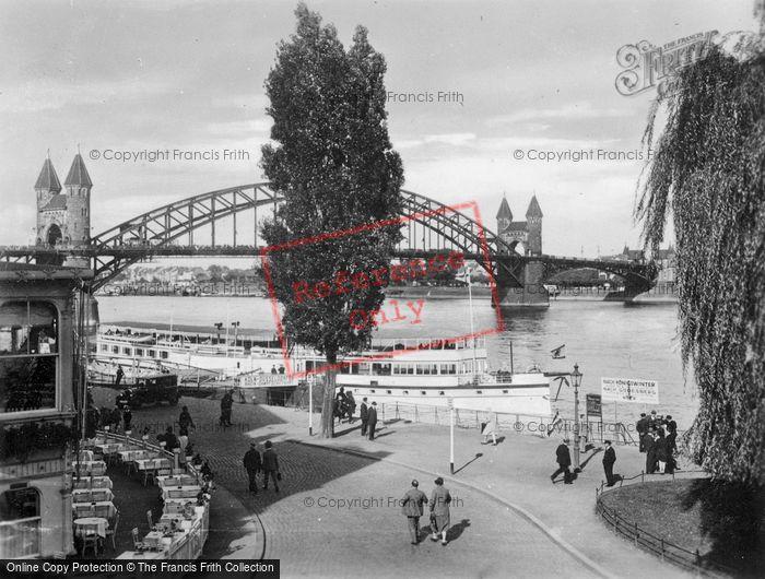 Photo of Bonn, The Landing Place c.1930