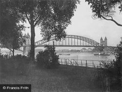 The Rhine Bridge c.1930, Bonn