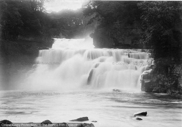 Bonnington Linn, The Falls 1897