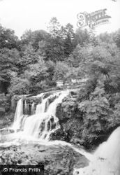 Bonnington Linn, Wood And Falls c.1930