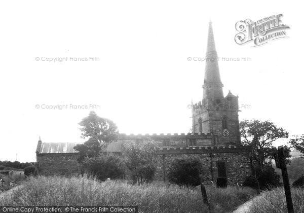 Bonsall, St James' Church c.1950