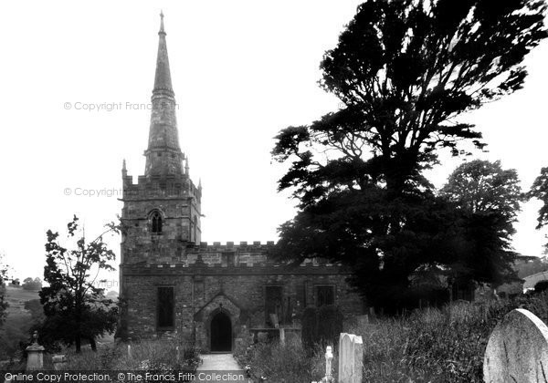 Bonsall, St James's Church c1955