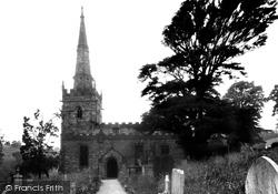 St James' Church c.1950, Bonsall