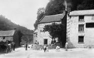 Bonsall, Via Gellia, Pig Of Lead Inn 1892