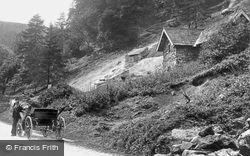 Via Gellia, Tufa Cottage 1892, Bonsall