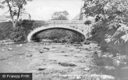 Bridge Over The Gwyrfai c.1940, Bontnewydd