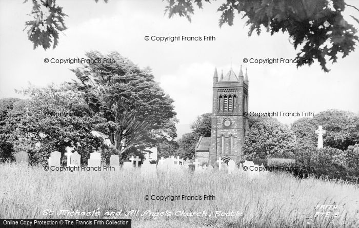 Photo of Bootle, Church Of St Michael And All Angels c.1955