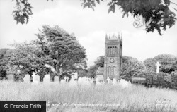 Bootle, Church Of St Michael And All Angels c.1955