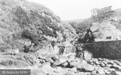 Bootle, Gibson Spout Waterfall c.1955