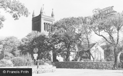 Bootle, St Michael's Church c.1955