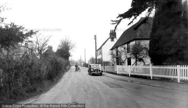 Borden, the Village c1950