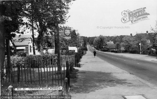 Bordon, Farnham Road c.1960