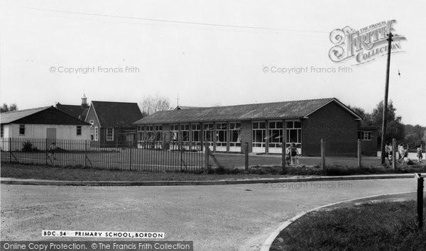 Bordon, Primary School c.1960
