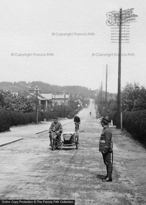 Bordon, Soldiers, Main Road 1919