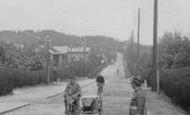 Bordon, Soldiers, Main Road 1919