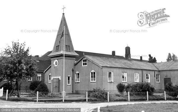 Bordon, The Garrison Church c.1960