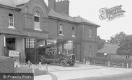 Bordon, The Garrison Military Fire Station c.1960