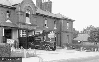 Bordon, the Garrison Military Fire Station c1960