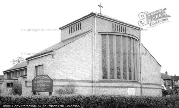 Photo of Borehamwood, St Michael's Church c1965