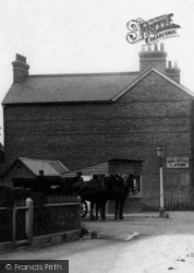 Borough Green, A Horsedrawn Wagon On Sevenoaks Road 1906