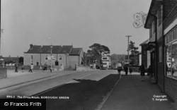 Borough Green, The Cross Roads c.1950