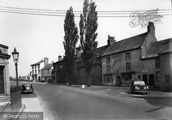 Boroughbridge, Bridge Street c.1955