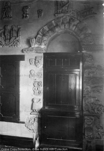Photo of Boroughbridge, Church, Arch In Vestry 1895