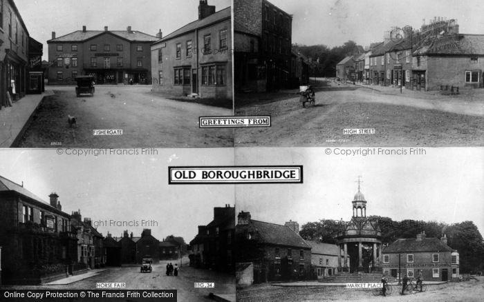 Photo of Boroughbridge, Composite c.1900