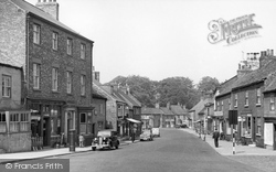 Boroughbridge, High Street c.1955
