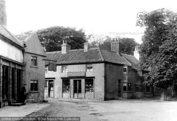 Boroughbridge, High Street, Lower End 1895