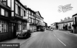 Boroughbridge, Main Road c.1960