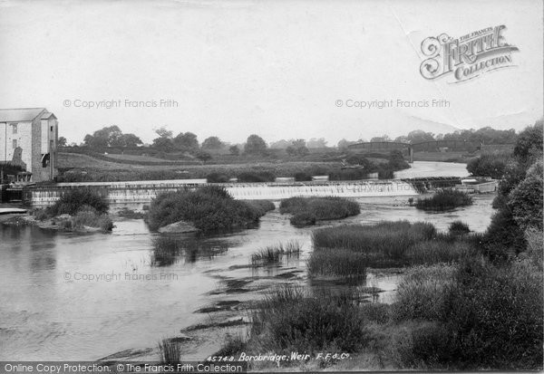 Photo of Boroughbridge, Mill And Weir 1900