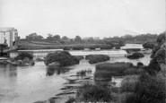 Boroughbridge, Mill And Weir 1900