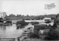 Boroughbridge, Mill And Weir 1900