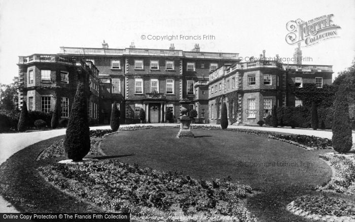 Photo of Boroughbridge, Newby Hall, East Front 1900