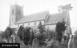 Boroughbridge, St James' Church 1895