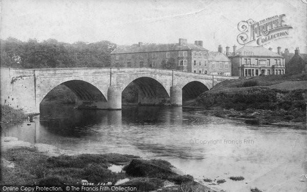 Boroughbridge, The Bridge 1895