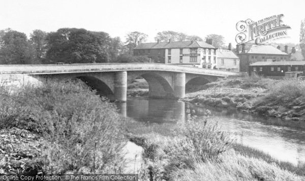 Photo of Boroughbridge, The Bridge c.1955
