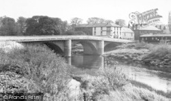 Boroughbridge, The Bridge c.1955