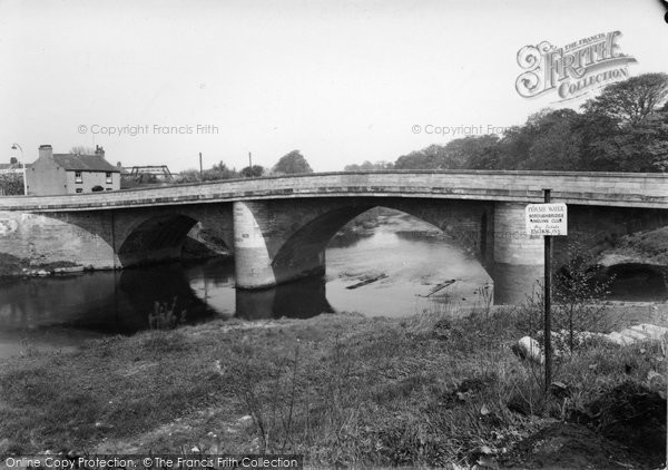 Boroughbridge, The Bridge c.1955