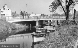 Boroughbridge, The Canal c.1955