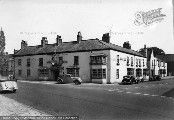 Boroughbridge, The Crown Hotel c.1955