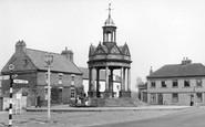 Boroughbridge, The Fountain, St James Square c.1955
